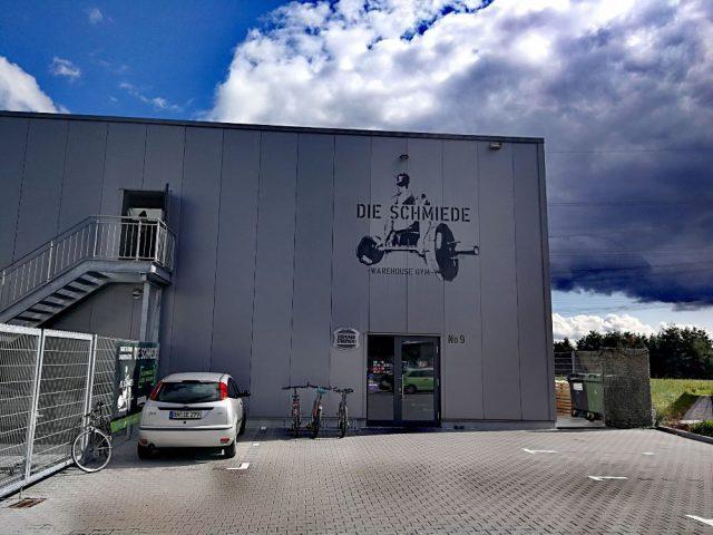 Eingang der Schmiede in Bonn
