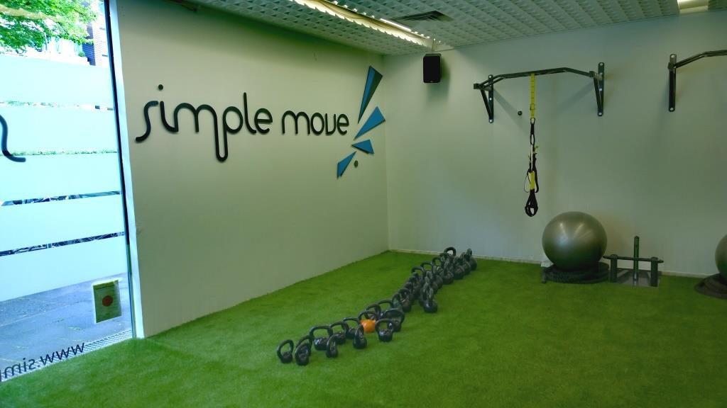 Trainingsfläche im Simple Move
