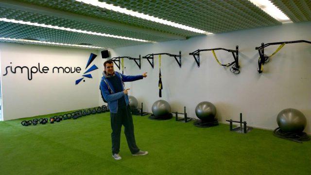 Trainingsfläche von Simple Move
