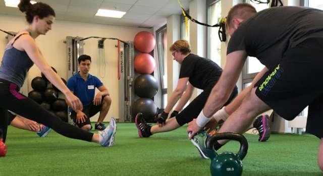Trainingsgruppe im Personal Fitness Bonn