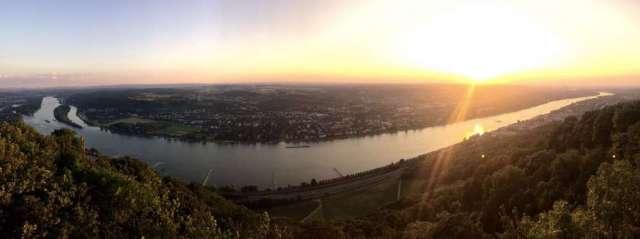 Aussicht Drachenfels Bonn