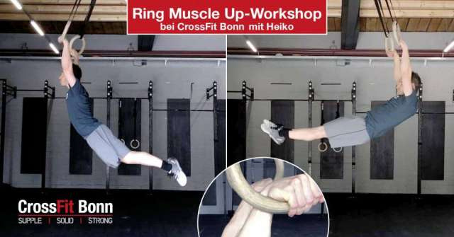 Ring Mucle Workshop bei CrossFit Bonn