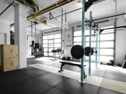 dbox Crossfit Trainingsbereich