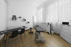 Physiotherapeutische Behandlungsraum in der dbox