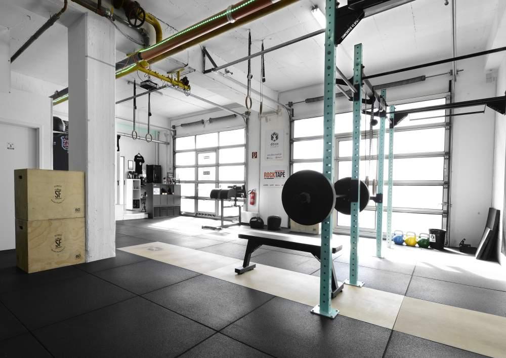 dbox CrossFit Trainingsbereich